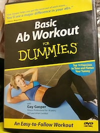 Basic Ab Workout for dummies DVD case