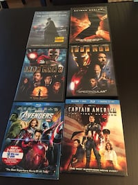 Set of 6 superhero DVD's  Woodbridge, 22193