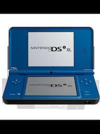 blue Nintendo DS with text overlay 3156 km