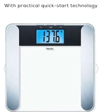 Brand New Beurer scale never used before cost $50 I'm asking for $30 Rockville, 20851