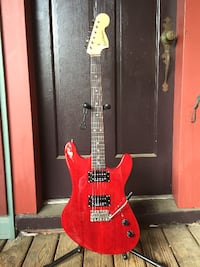 Electric guitar custom made MANASSAS