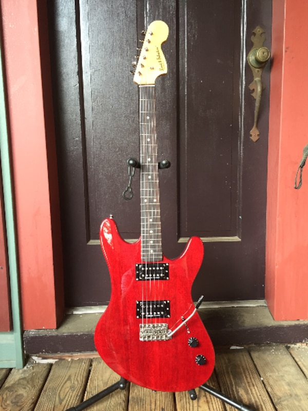 Electric guitar custom made