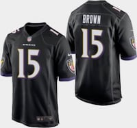 Marquise Brown ravens Jerseys ALL SIZES  Baltimore