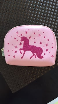 white and pink Hello Kitty leather wristlet Falls Church, 22043