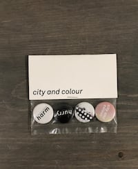 Brand New City and Colour Pins