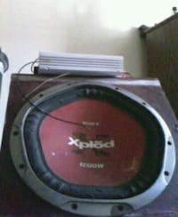 1200w sub woofer with amp Topeka, 66609