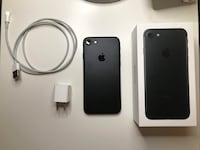 iPhone 7 matte black 128GB Vancouver, V5X 0A7
