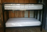New metal bunk bed with mattresses Los Angeles, 91331
