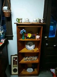 brown wooden shelf Ocala, 34475