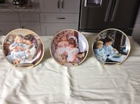 Seven Collectors Plates by Sandra Kuck ($10 each; $70 for all) Barrie, L4N 7Z3