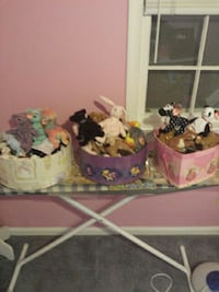 assorted-color animal plush toy collection Virginia Beach, 23452