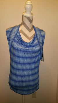 New, W/tags, Women's GNW blue top Maple Valley, 98038