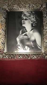 Silver Marilyn Monroe picture frame Kansas City, 66102