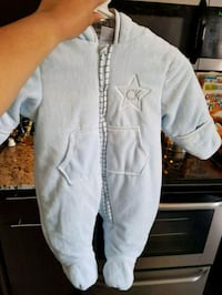 New CK snow suit size 6-9 month  Winnipeg, R2H 1Y8