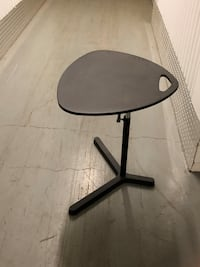Small reclining portable table
