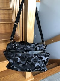Coach diaper bag, like new Laval, H7P 4E6