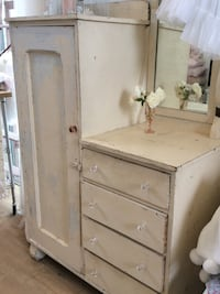 Shabby chic armoire with mirror Irvine, 92603