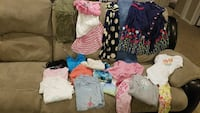 Girls size 12 summer clothes