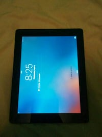 black Android tablet