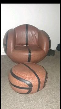 Acme Furniture All Star Basketball Chair and Ottom North Las Vegas