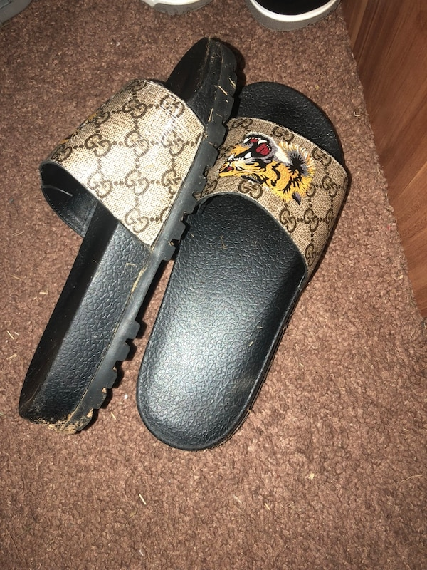05578492c685 Used Gucci Belt and Gucci Slides for sale in Covington - letgo