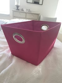 Pink storage toy box girls room baby nursery  Fair Oaks, 95628