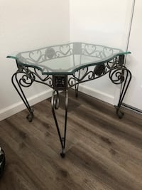 Side tables. Accent table. 2 of them. Each for $35