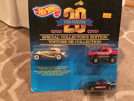Hot Wheels, Special Collector's Edition toy cars.