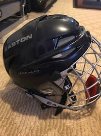Men's hockey helmet...