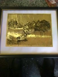 brown wooden framed painting of house San Francisco, 94103