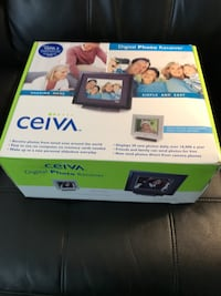 Ceiva 3 Digital Photo Receiver set. Includes Broadband adapter. Sterling, 20164