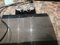 black Sony PS3 super slim console with controller Callaway, 68825