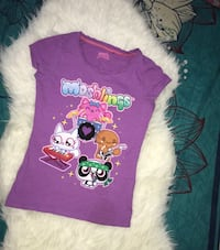 Purple moshi moshlings t shirt for girls Lahore