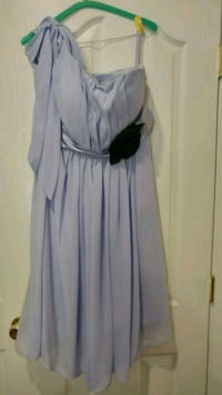 Lilac chiffon dress size 14 Bowie, 20720