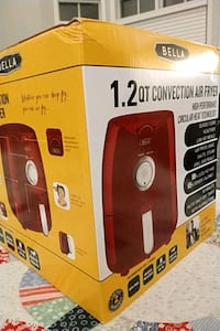 Bella NIB 1.3 qt convention air fryer Fairfax