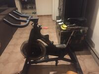 black and gray stationary bike Montréal, H1R 2N5