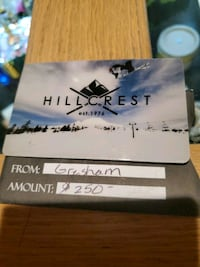Hillcrest Ski and Sports  Gift Card