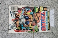 The thing marvel comic