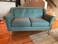 Teal apartment sofa loveseat Washington, 20001