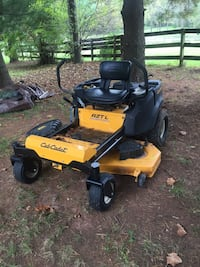 yellow and black Cub Cadet zero turn mower Haymarket, 20169