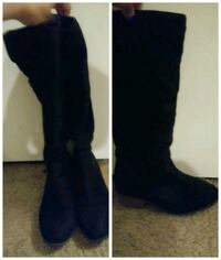 Black Suede Boots Size 8 Virginia Beach, 23456