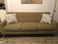 Sofa must go today $100 firm Hollywood  Hollywood, 33020