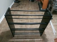 STURDY BLACK SHOE RACK Summerville, 29485