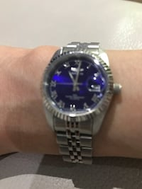 Women's Invicta Silver Tone Blue Watch Toronto, M2N 0E5