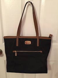 Black and brown leather tote bag Port Saint Lucie, 34953