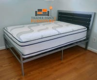 Brand New Full Size Bed + Pillowtop Mattress  Silver Spring, 20902