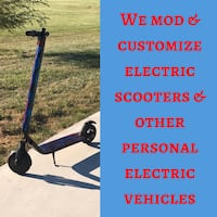 Electric scooter modifications  and customizations we do  Paint San Jose, 95116