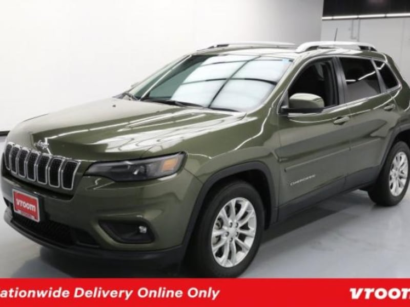 2019 Jeep Cherokee Olive Green Pearlcoat hatchback 0