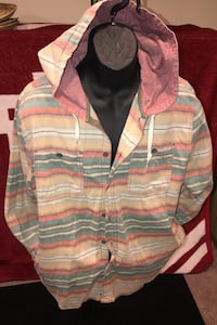 Exclusive Button Up Hoodie South Bend, 46617