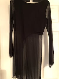 black long-sleeved dress Fairfax, 22033